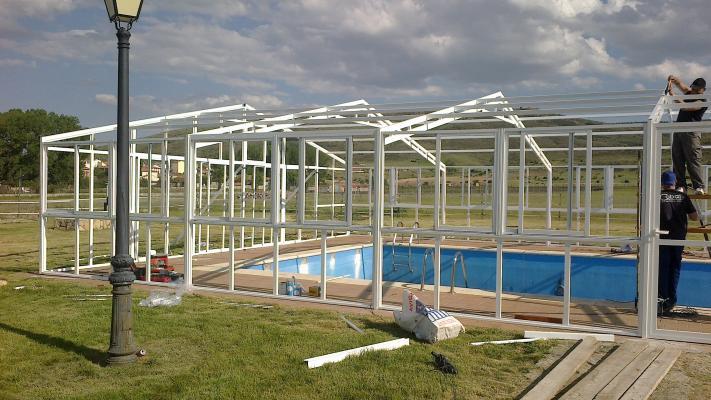 Cobal cocina ba o aluminio for Estructuras para piscinas